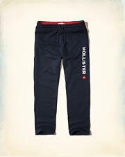 Hollister Men Logo Graphic Classic Fit sweatpants size Medium new with tags