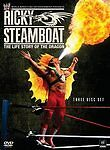 RICKY STEAMBOAT THE LIFE STORY OF THE DRAGON New 3 disc set DVD WWE 12 matches