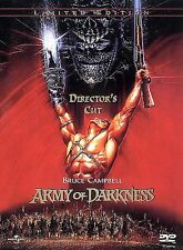 ARMYOFDARKNESS(GOLDDVD,2000,LIMITEDEDITION #;DIRECTOR'SCUT)W/INSERT;BRUCECAMPBEL