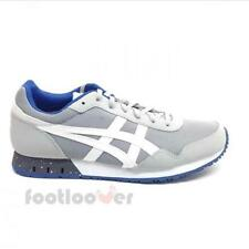 Shoes Asics Curreo HN537 1301 Man Sneakers Toile Running Grey White Mesh Suede