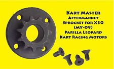 IAME X30 Parilla Leopard Engine Sprocket  10T, 11T, 12T   AfterMarket  X30 MY09