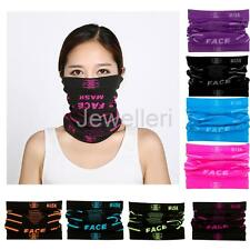 Men Women Sport Half Face Mask Winter Neck Warmer for Ski Motorcycle Bike Hiking
