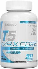 T5 Max Strength Fat Burners Best Slimming Diet Pills 60 Capsules Weight Loss