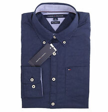 Tommy Hilfiger Men Long Sleeve New York Fit Button Down Plaid Shirt - Free Ship