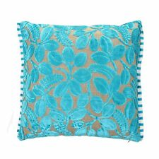 Designers Guild Velvet Calaggio-Turquoise Cushion Cover size avaiable