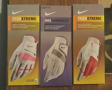 NEW Nike SummerLite Tech Xtreme Golf Glove WOMENS Left Right Hand M L Pink Red