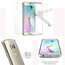 For Samsung & iPhone Front + Back 360 Full Body Protection Soft TPU Case Cover