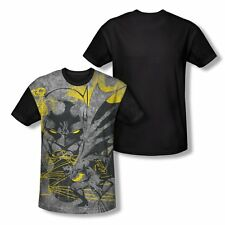 Batman Symbiotic All Over Print With Black Back T-Shirt