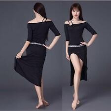 New 2016 Women Modal Belly Dance Costumes Club Stage Practice Long Dress Skirt