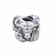Authentic S925 Silver King Of The Jungle Charm Bead