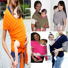 Baby Roam Stretchy Sling Hug Wrap Carrier Newborn Breastfeeding Hold Cover Tops