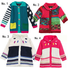 Catimini Girls' Clothing Knitted Coat 2A-8A