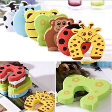 4Pcs Baby Child Proofing Door Stoppers Finger Safety Guard Foam Slam Protectors