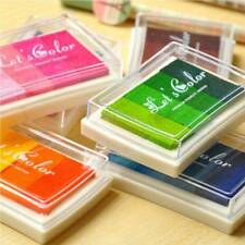 New Craft Cards DIY Making Oil Based Ink Pad Print For Rubber Stamps Paper Wood