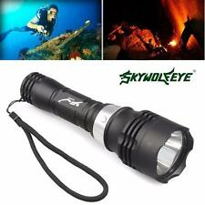 5000LM 60m Waterproof CREE T6 LED Diving Flashlight Torch Scuba Light Lamp US