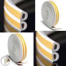 E P Draught Excluder Self Adhesive White Rubber Door Window Seal Strip  Foam