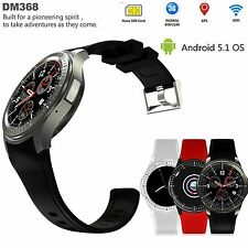 8GB Bluetooth WiFi SIM Camera GPS Heart Rate Smart Watch For iOS/iPhone Samsung