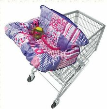 NWT Universal Compact 2-in-1 Shopping Cart Cover High Chair Seat Baby Toddler