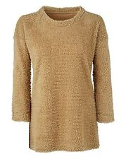 Simply Be,Size 12/14 16/18,20/22, 24/26  28/30 Soft Fluffy Top, Jumper, Oatmeal