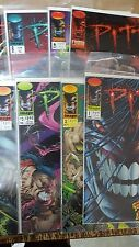 Alternative Comic lot pitt from spawn 1-6 8 9 nm bagged boarded