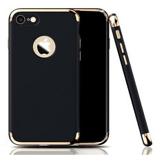 Ultra Thin Electroplate Bumper NonSlip Matte Hard Case Cover for iPhone 7/7 Plus