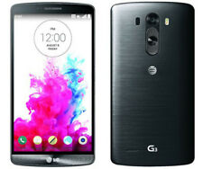"LG G3 D850 AT&T BLACK/WHITE 3GB/32GB 5.5"" SCREEN ANDROID 4G UNLOCKED SMERTPHONE"