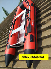RED 1.2mm PVC 17.5 ft Military Heavy Duty Inflatable Boat -V530(Seal Team Boat )