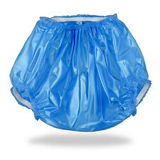 Blue ABDL Plastic Pants (PVC) for Adult Baby Diapers & Nappy AB/DL & DDLG