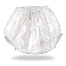 White ABDL Plastic Pants (PVC) for Adult Baby Diapers & Nappy AB/DL MyInnerBaby