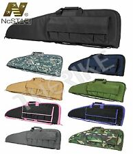 "Tactical Scoped 36"" 38"" 40"" 42"" 46"" Rifle Gun Case Soft Padded Bag M4 AK47 AR15"