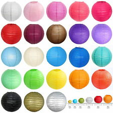 """5 piece Chinese Lampshades Paper Lantern Wedding Party Decor -8""""/10""""/12""""/14""""/16"""""""
