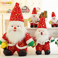 1pc Christmas Lovely Doll Decoration Santa Claus Plush Doll Child Baby Toy New