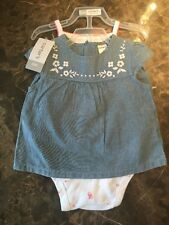 CARTER'S 3-Piece Girls Infant Set, Size 6 month, 9 month NEW WITH TAGS