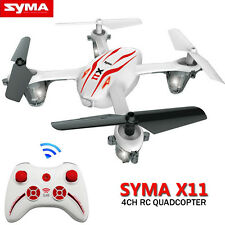 Syma X11 2.4G 4CH 6-axis Gyro 360° Mini RC Quadcopter Remote Aircraft Drone UK
