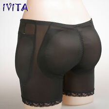 IVITA Silicone Padded Butt Enhancer Shaper Booty Pop Booster Panty Shaped Body