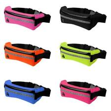 Waterproof Sport Waist Belt Bum Pouch Fanny Pack Bag for Running Cycling Jogging