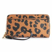 NEW! REED by Reed Krakoff Double Zipper Wallet - Faux Leather - Limited Edition