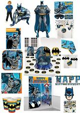 Batman Birthday Party Supplies Super Hero Tablecover Cups Plates Decorations