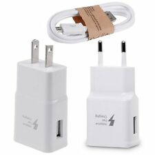 For Samsung Galaxy Note 5/4 S6 Edge+ Adaptive Fast Rapid Wall Charger USB Cable