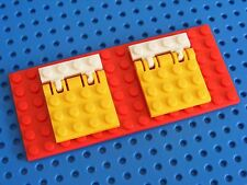 LEGO 2x Plate With Locking Hinge 4x4 - Choose Your Colour (44570)
