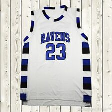 Nathan Scott #23 One Tree Hill Ravens Basketball Jersey Throwback Stitched White