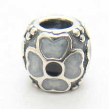 Genuine Authentic S925 Silver White Daisy Charm