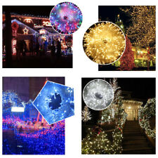 EXCELVAN 500 LEDs 100M String Fairy Lights Lighting 8 Modes for Christmas Trees