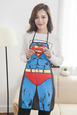 Superman Kitchen Apron Male and Female Sexy hot mama Mother Apron Kitchen Aprons