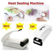 4/2pcs Bag Re-Sealer Portable Handy Bag Sealer Sealing Machine Magic Sealer