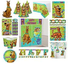 Scooby Doo Birthday Party Supplies Tableware Plates Cups Napkins Invites Loot