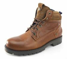 Wrangler Newton Arizona Lace Up Mens Leather Boots  Brown