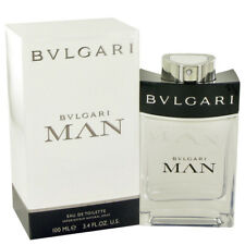 Bvlgari Man Cologne Mens Fragrance Eau De Toilette EDT Spray .17 3.4 5 oz