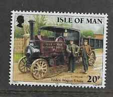 ISLE OF MAN POSTAL ISSUE USED COMMEMORATIVE STAMP - STEAM ENGINES - 1995