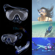 Swimming Mask Diving Equipment Anti Fog Goggles Scuba Mask Snorkel Glasses Pro